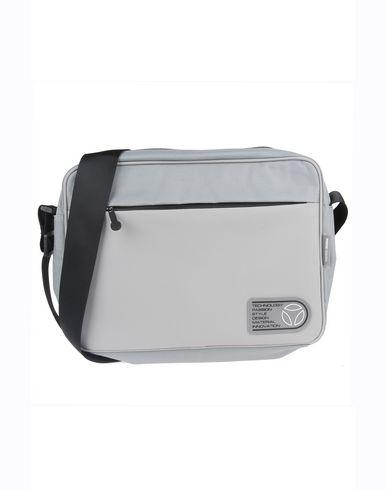 MOMO DESIGN メンズ ブリーフケース グレー ポリエステル 80% / ポリウレタン 20%