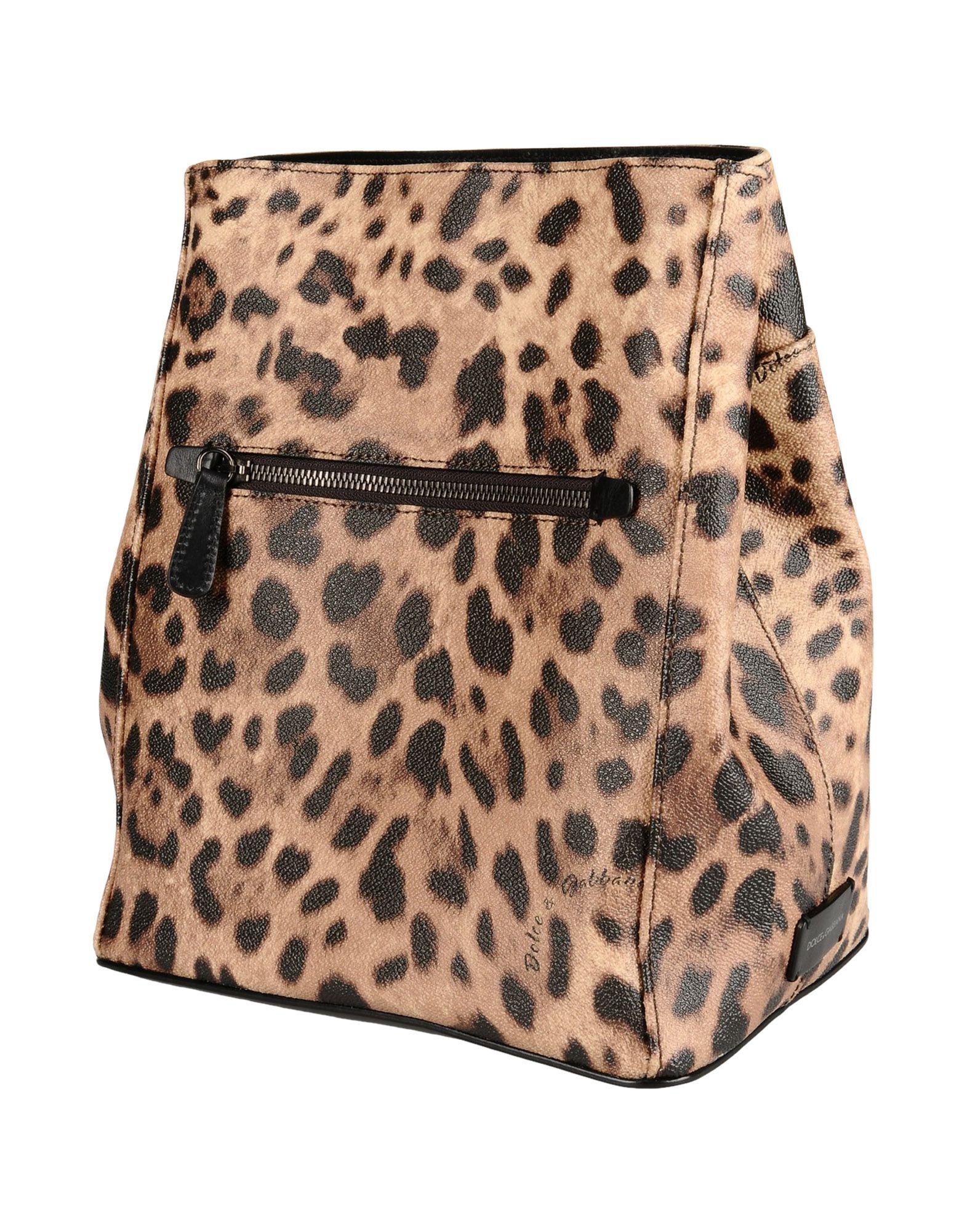 DOLCE & GABBANA Рюкзаки и сумки на пояс мужские сумки