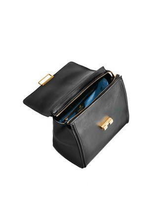 LANVIN SMALL BLACK TOP HANDLE BAG BY LANVIN Top handle D d