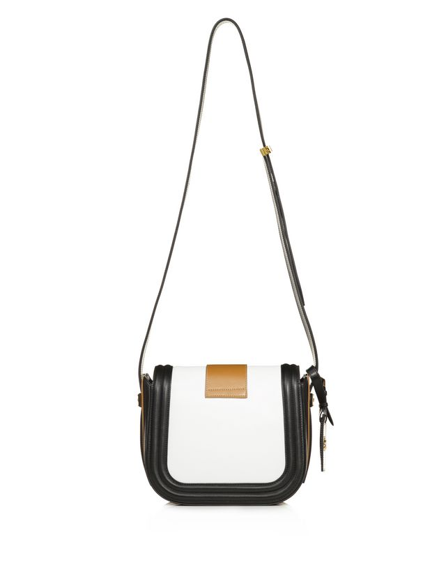 LANVIN SMALL WHITE LALA BAG BY LANVIN Shoulder bag D r
