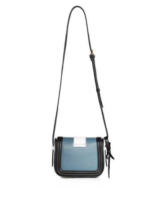lanvin small mid-blue lala bag by lanvin  women