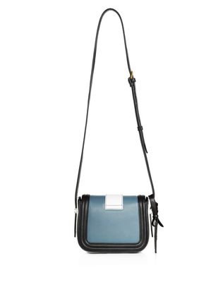 LANVIN SMALL MID-BLUE LALA BAG BY LANVIN Shoulder bag D r