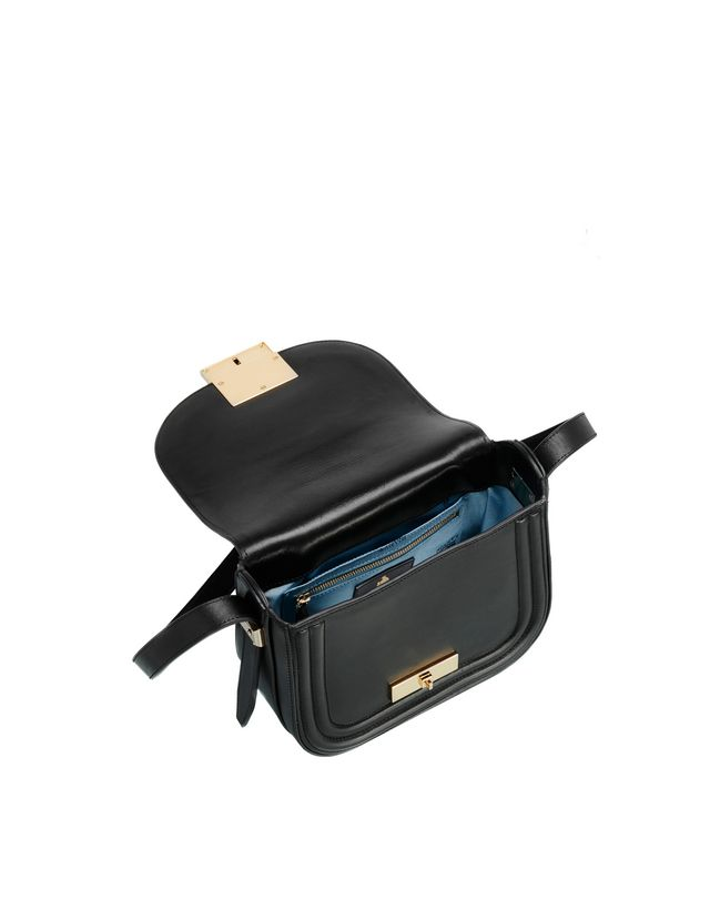 LANVIN SMALL BLACK LALA BAG BY LANVIN Shoulder bag D d