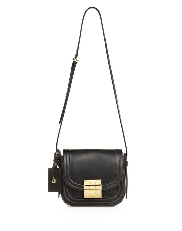 LANVIN SMALL BLACK LALA BAG BY LANVIN Shoulder bag D f