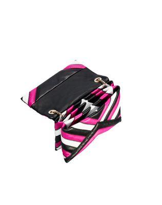 LANVIN MINI MULTICOLOUR QUILTED SUGAR BAG Shoulder bag D d