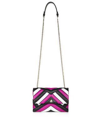 LANVIN MINI MULTICOLOUR QUILTED SUGAR BAG Shoulder bag D f