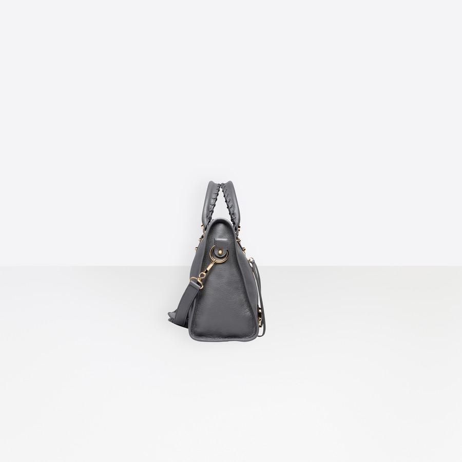 BALENCIAGA Classic Metallic Edge City Metallic Edge Handbag Woman i