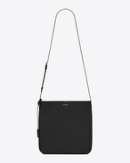 BOLD Crossbody Bag in Black Leather