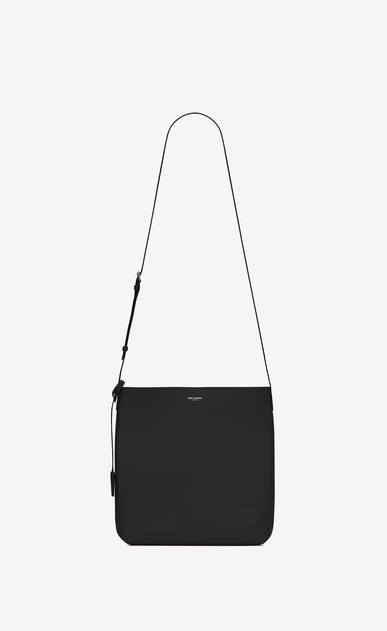 SAINT LAURENT Messenger And Crossbody Man BOLD Crossbody Bag in Black Leather a_V4