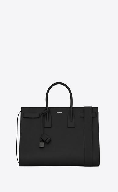 SAINT LAURENT Sac de Jour Men U Large SAC DE JOUR Carry All Bag in Black Grained Leather v4