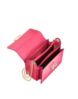 LANVIN Small Jiji by Lanvin bag in smooth calfskin Shoulder bag D d