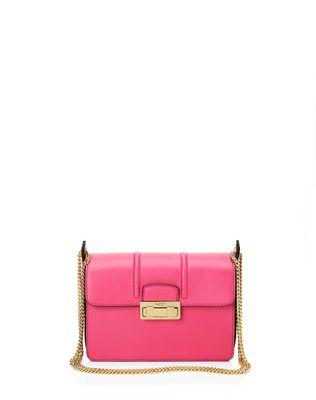 LANVIN Small Jiji by Lanvin bag in smooth calfskin Shoulder bag D f