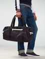 ARMANI EXCHANGE Contrast Zip Sport Duffle Weekender bag Man e