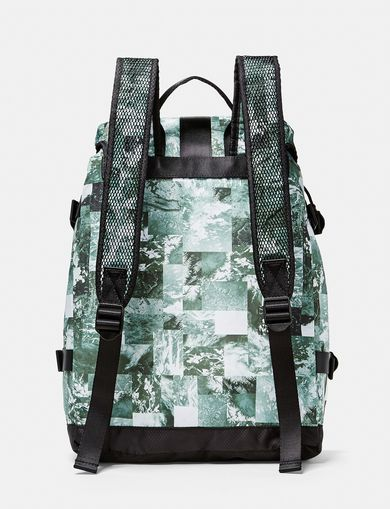 ARMANI EXCHANGE Aerial Camo Backpack Man retro