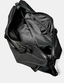 ARMANI EXCHANGE Nylon Logo Duffle Weekender bag U d