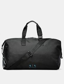 ARMANI EXCHANGE Nylon Logo Duffle Weekender bag U f