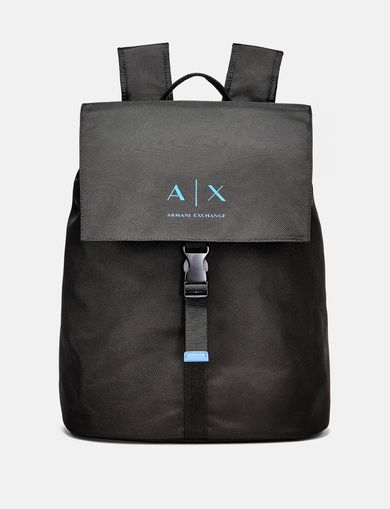 ARMANI EXCHANGE Nylon Logo Backpack Man front