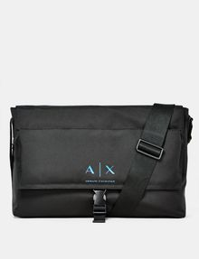 ARMANI EXCHANGE Nylon Logo Messenger Weekender bag U f