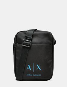 Armani Exchange Nylon Logo Satchel Messenger Bag Pickupinshippingnotguaranteed Info