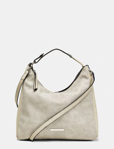 ARMANI EXCHANGE Lizard Mini Hobo Bag Woman front