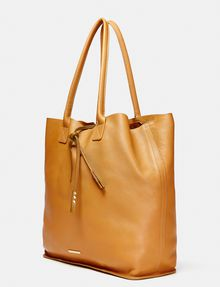 ARMANI EXCHANGE Oversize Leather Tassel Tote Tote bag Woman d
