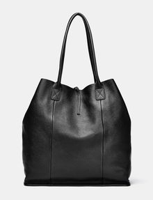 ARMANI EXCHANGE Oversize Leather Tassel Tote Tote D r