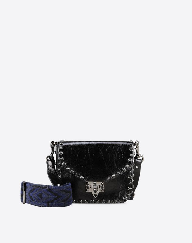 da82408fbfb Small Guitar Strap Crossbody Bag for Woman | Valentino Online Boutique