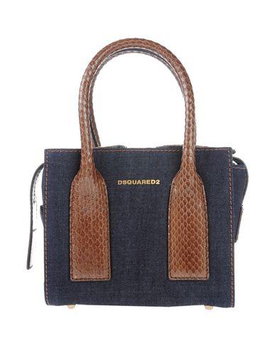 DSQUARED2 レディース ハンドバッグ ブルー 紡績繊維 / 革