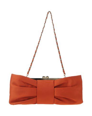 CHIARA P レディース ハンドバッグ オレンジ 紡績繊維