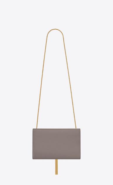 SAINT LAURENT MONOGRAM KATE WITH TASSEL D medium kate tassel chain bag in fog leather b_V4