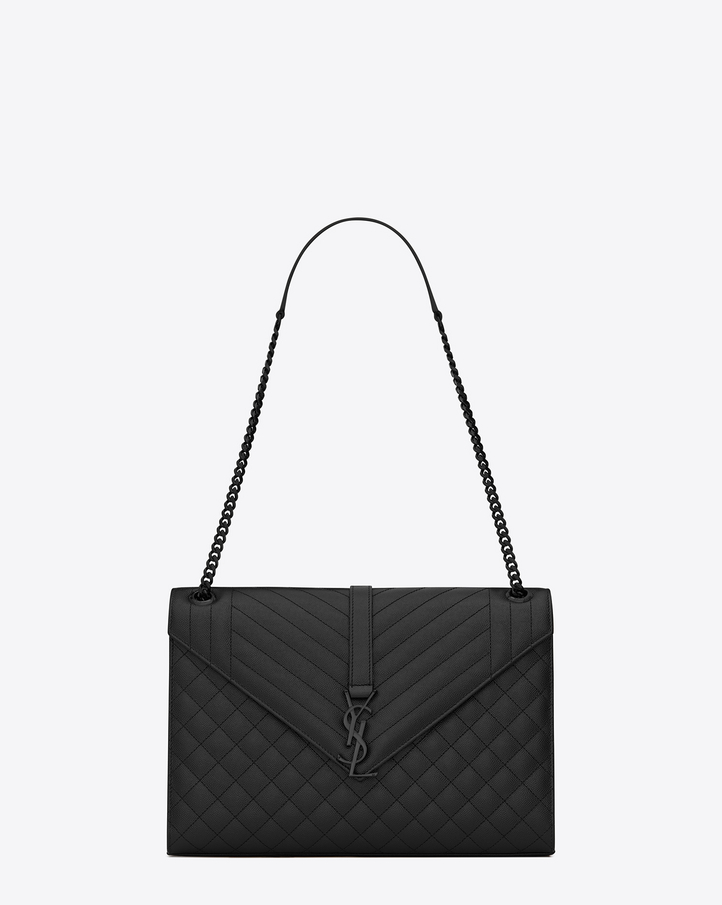 6a527990200 Ysl Envelope Large Bag In Grain De Poudre Embossed Leather | City of ...