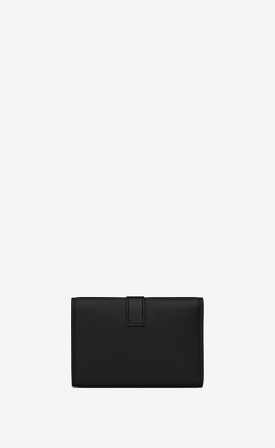 SAINT LAURENT YSL line D YSL Key Case in Black Leather b_V4
