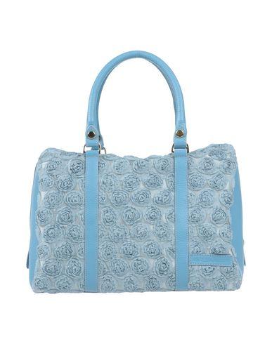 MARIELLA ARDUINI レディース ハンドバッグ スカイブルー 紡績繊維 / 革