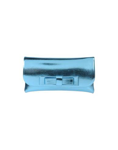 LA FILLE des FLEURS レディース ハンドバッグ アジュールブルー ポリエステル 60% / ナイロン 35% / ポリウレタン 5%