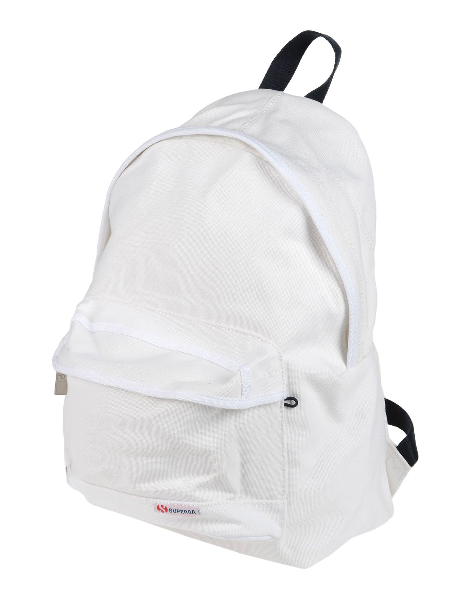 《セール開催中》SUPERGA Unisex バックパック&ヒップバッグ ホワイト コットン 100%