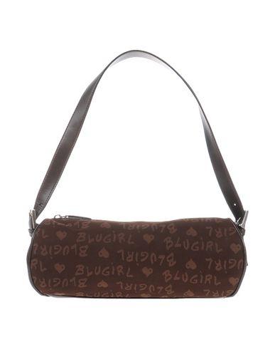 BLUGIRL BLUMARINE レディース ハンドバッグ ダークブラウン 紡績繊維 / 革