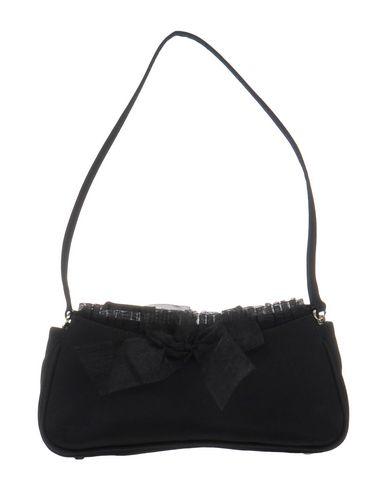 CASADEI レディース ハンドバッグ ブラック 紡績繊維