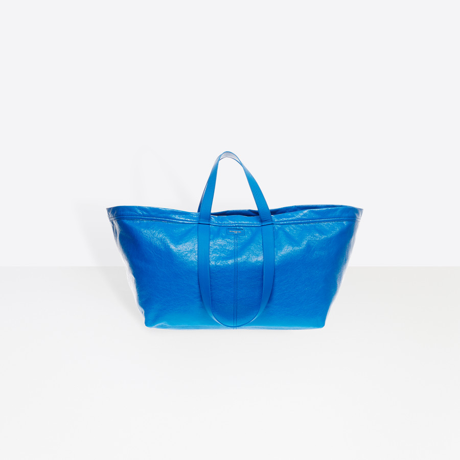 Carry Shopper L leather bag Balenciaga bKUAJXx6fQ
