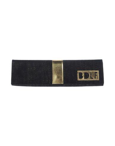 BOUTIQUE de la FEMME レディース ハンドバッグ ブラック 紡績繊維