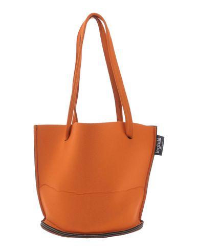 LEGHIL? レディース ハンドバッグ オレンジ 紡績繊維