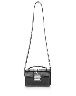 LANVIN BLACK SMALL BOX JIJI BY LANVIN BAG Shoulder bag D f