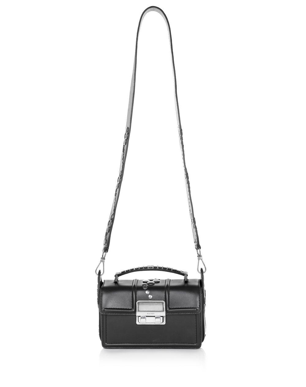 BLACK SMALL BOX JIJI BY LANVIN BAG  - Lanvin