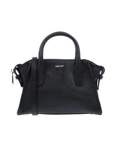 DKNY レディース ハンドバッグ ブラック 革 100%