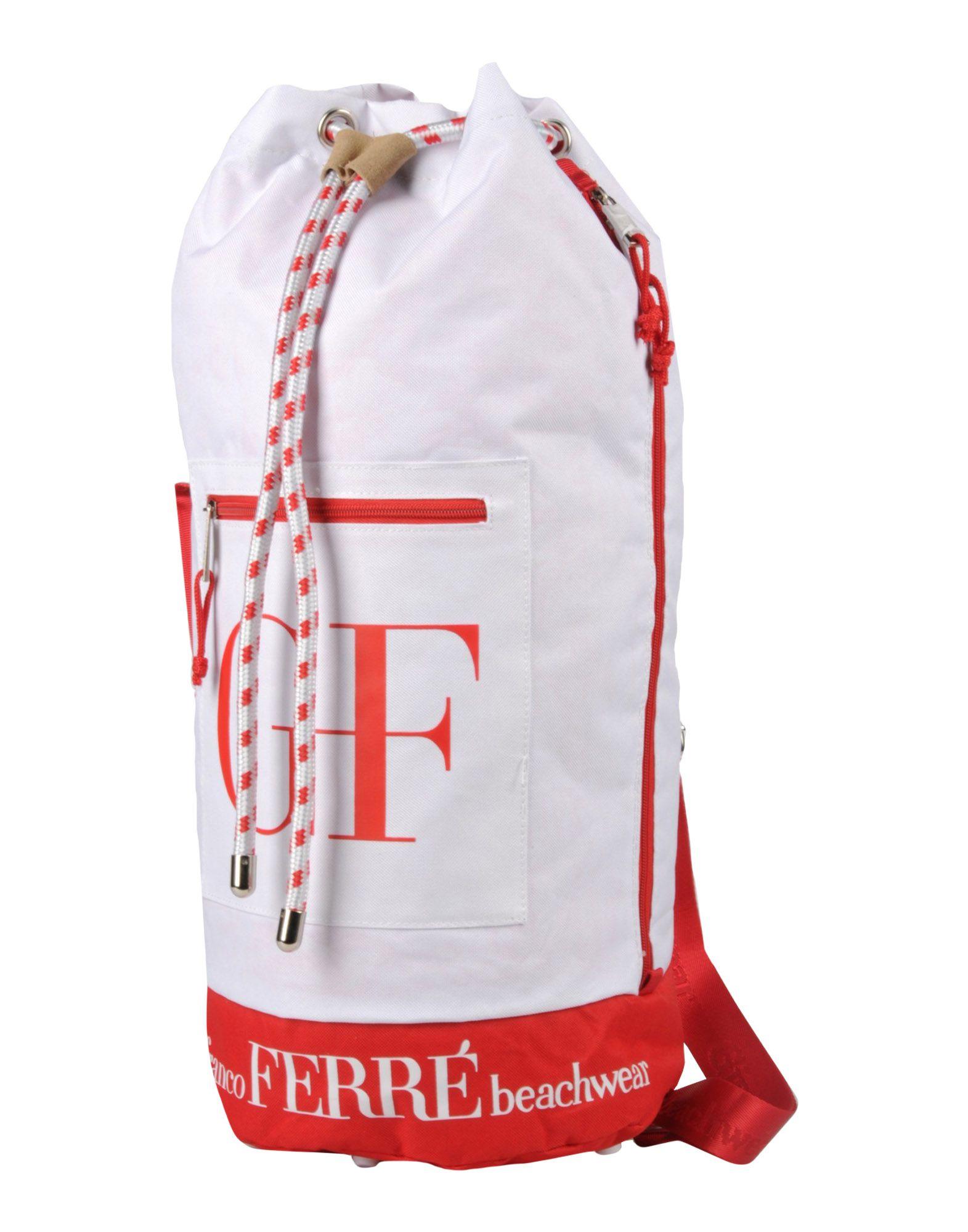 GIANFRANCO FERRE' BEACHWEAR Рюкзаки и сумки на пояс gianfranco ferre beachwear бермуды