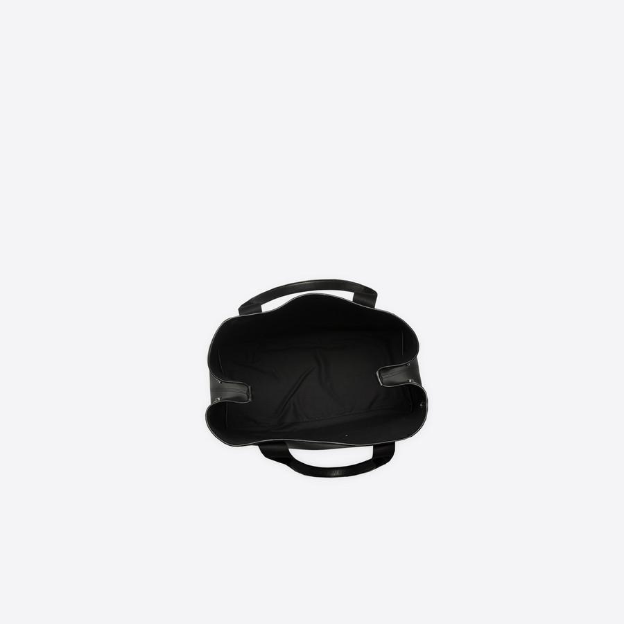 BALENCIAGA Leather Navy Cabas M Navy Handbag D e