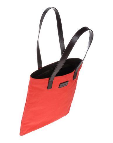 DOLCE & GABBANA Herren Handtaschen Rot 75% Baumwolle 25% Kalbsleder