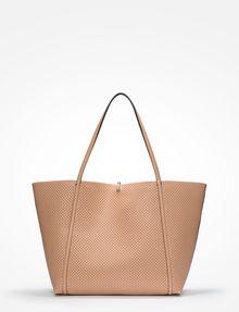 ARMANI EXCHANGE LARGE PERFORATED REVERSIBLE TOTE Tote bag D d