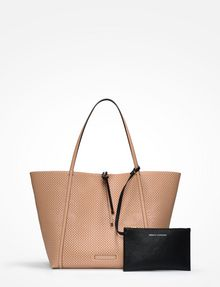 ARMANI EXCHANGE LARGE PERFORATED REVERSIBLE TOTE Tote bag D f
