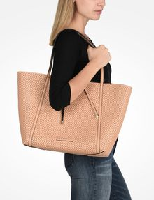 ARMANI EXCHANGE LARGE PERFORATED REVERSIBLE TOTE Tote bag D r