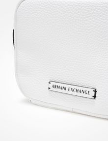 ARMANI EXCHANGE PEBBLED CROSSBODY Crossbody bag Woman a